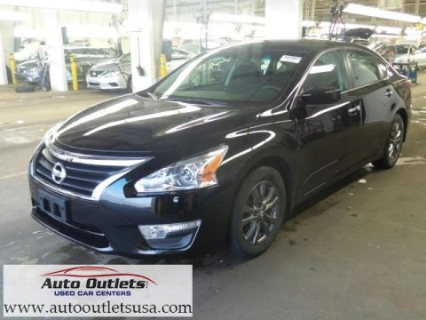 Pre-Owned 2015 Nissan Altima 2.5 FWD 4D Sedan