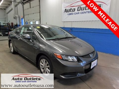 Pre-Owned 2012 Honda Civic EX FWD 2D Coupe